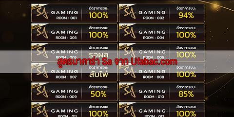 สูตร SA gaming